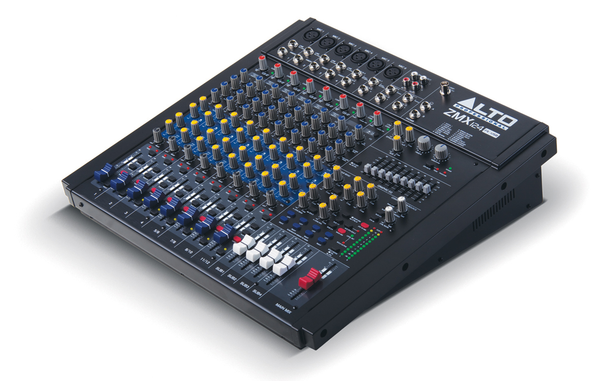 Location Console Alto ZMX124FX/USB